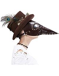 Modelos De Explosión Peste De Halloween Pájaro Largo Boca Médico Máscara Cosplay Fiesta De Baile Suministros Para Fiestas Vino Rojo