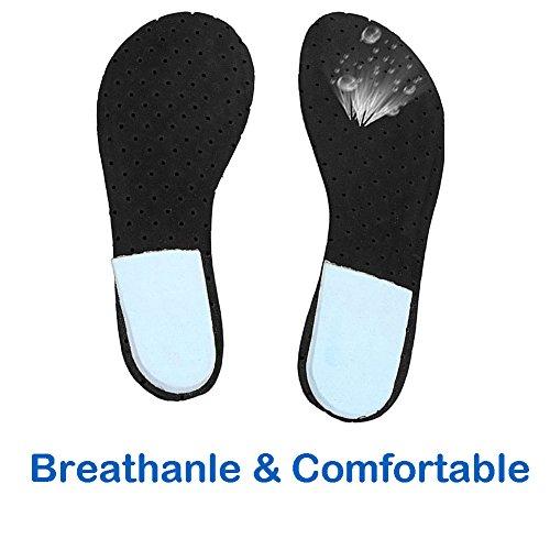 unisex frauen schuhe Aquaschuhe badehosen baden schuhe wasserdicht schnell trocknenden rutschfesten atmungsaktive strand barfußschuhe Sohlen für damen männer Blau /gelb / weiß Gelb