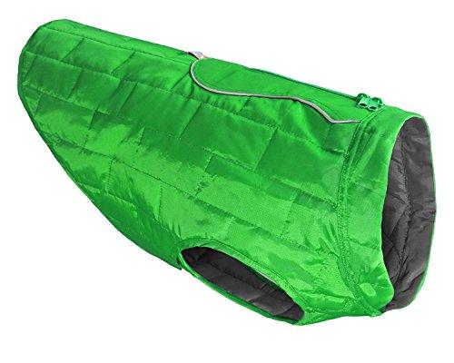 Kurgo Loft Hunde-Jacke, wendbar Hund Mantel, erhältlich in klein, klein, mittelgroß und groß & Extra große Größen