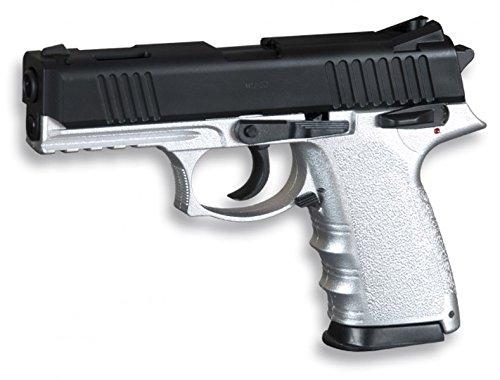 Pistola Softair pesanteMistaMarca: HFC. Munizioni:pallini in PVCda6mm di calibro. Azionamento:a molla. Potenza: 0,28Joule.
