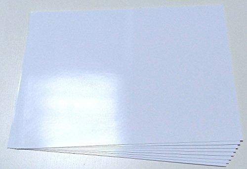 10-feuilles-a4-papier-photo-brillant-autocollant-blanc-de-qualite-dos-adhesif-limpression-detiquette