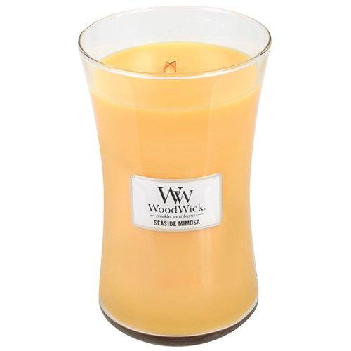 WoodWick 93085.0 Duftkerze, Glas, Gelb, 10,4 x 10,3 cm -
