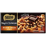 Nestlé Tableta de Chocolate Negro Con Frutos Secos - 200 g