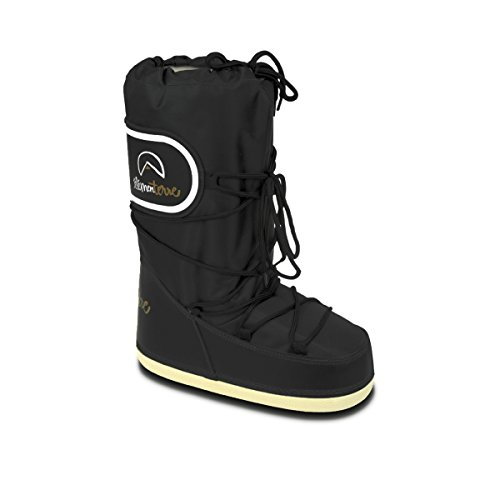 Element terre - Snoboo noir boots ski - Bottes neige après ski