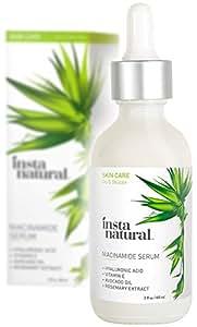 Instanatural Niacinamide Cream 5% Vitamin B3 Serum - 2 Oz