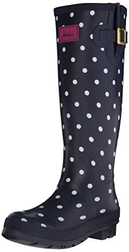 joules-wellyprint-botas-de-goma-para-mujer-color-azul-blue-navspot-talla-37-eu