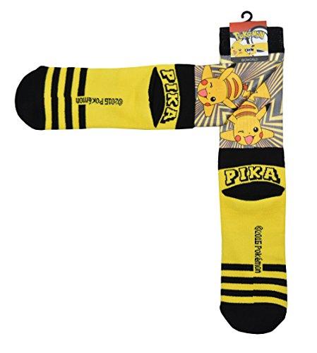 Pokemon Pikachu Pika Crew Calze