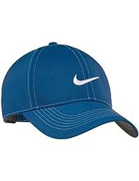 02bc05d96b8 Nike Original Contrast Stitching Water Resist Swoosh Embroidered Baseball  Cap - Royal