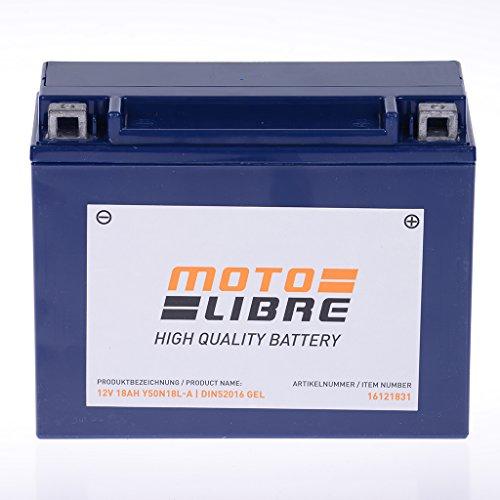 Batteria 12V 18AH y50N18l-a Gel motolibre 52016Harley Davidson fltc Tour Glide CL 134085-85