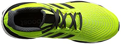adidas Men's Energy Boost M Running Shoes, Black/Orange