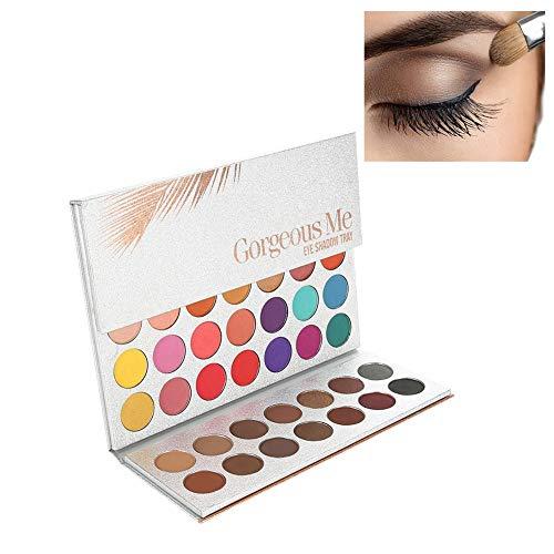 Mally Beauty Auge (Kosmetische Matte Lidschatten-Creme, Schönheit Glasierte Lidschatten-Palette Matte Professionelle 63 Farben Perlglanz Lidschatten-Augen-Kosmetik-Make-up-Palette)
