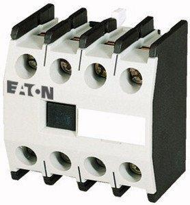 Eaton 277950 Hilfsschalterbaustein, 2 Schließer + 2 Öffner, Aufbau, Schraubanschluss