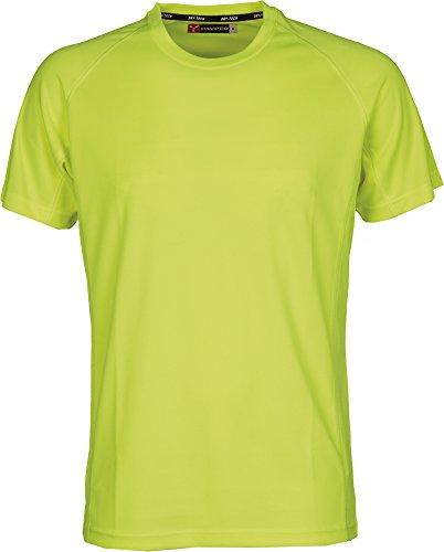 T-Shirt Lavoro Maglietta Manica Corta Poliestere Tecnica-Sportiva Payper Runner, Colore: Giallo Fluo, Taglia: L