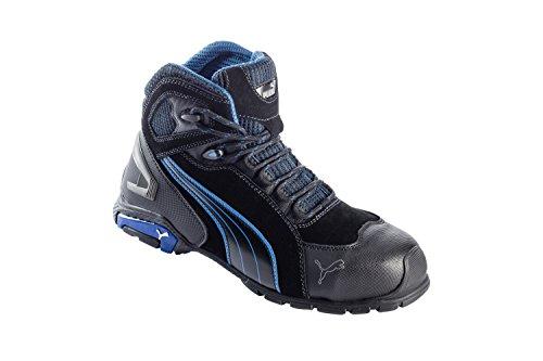 Chaussures de sécurité S3 SRC Rio Puma noires/bleues