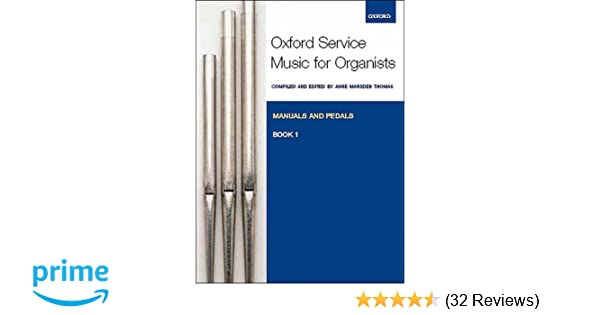 Oxford Service Music For Organ Book 1 Manual And Pedal Sheet Music Book Keyboard & Piano