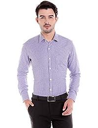 Donear NXG Mens Formal Shirt_SHIRT-1266-BLUE