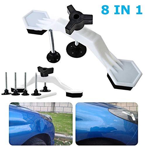 Jinxuny, Kit Portatile per la Riparazione delle ammaccature della carrozzeria dell'Auto, Strumento a Ventosa per Rimuovere Le ammaccature