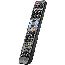 One For All URC1910 - Mando a distancia de reemplazo para Televisores Samsung – Control remoto universal para todo tipo de TVs de la marca Samsung – negro