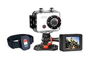 easypix GoXtreme Power Control bianco sport cam action camera Full-hd con telecomando
