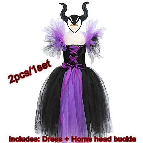 Böses Mädchen Kostüm - NiQiShangMao Maleficent der bösen Königin Tutu