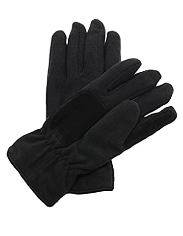 Regatta Men's Thinsulate Fleece Gloves, Black, Large/X-Large