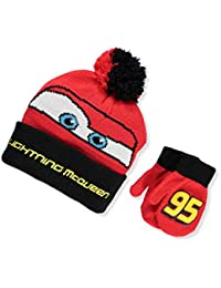 Disney Cars 3 set Beanie e guanti da ragazzo multicolore Red Black taglia  unica 5bc43f6a1033