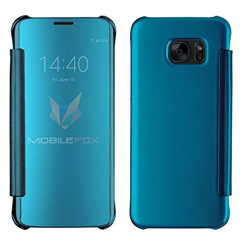 mobilefox-clear-view-spiegelcase-flip-cover-fur-samsung-galaxy-s7-edge-blau-handy-case-schutzhulle
