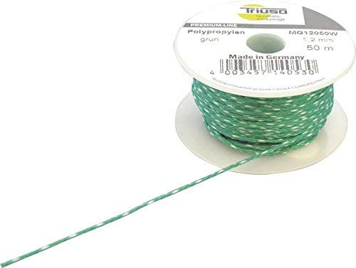 Hilo de albañil verde 2,0mm/ 50m Polipropileno