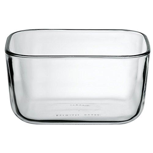 WMF Top Serve Ersatzglas, 13 x 10 x 6,5 cm, rechteckig, Ersatzteil für Schale