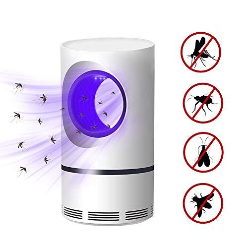 Lámpara electrónica para Matar Mosquitos LED Luz UV no tóxica Insecto Asesino Multifunción Mosca Trampa Lámpara Sin radiación Protección Segura alimentada por USB Súper silencioso