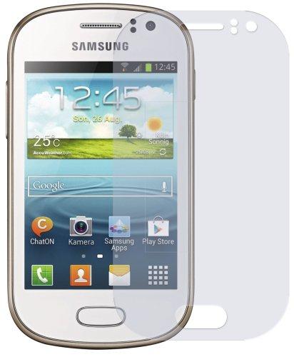 dipos I 2X Schutzfolie matt passend für Samsung Galaxy Fame GT-S6810P Folie Displayschutzfolie - Fame Samsung Handy