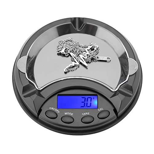 Mini bilancia Elettronica Digitale bilancia da gioielleria cambiare liberamente La unità di peso, 100G/0.01G (Senza batteria)
