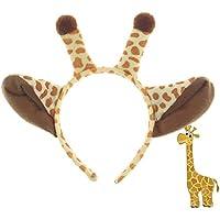 1 PCS Giraffe Headband Cartoon Decoración de Disfraces de Halloween para niños Adultos