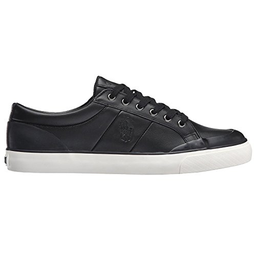 Ralph Lauren Mens Ian Smooth Sport Leather Trainers