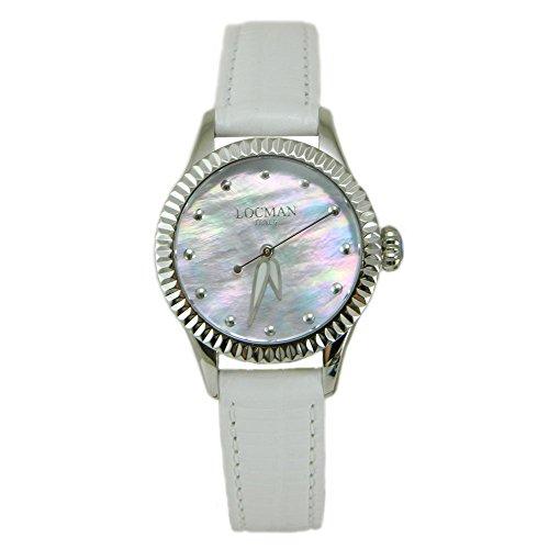 Locman lady white watch Isola D'Elba 30 mm case