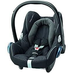 Bébé Confort Cosi Cabriofix, Siège auto Bébé Groupe 0+, Dos à la route, Naissance à 12 mois (0 à 13 kg), Black Crystal