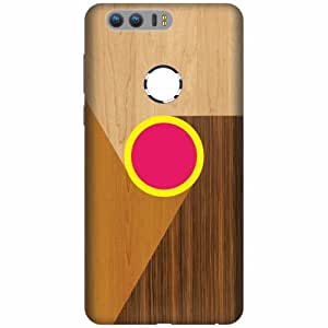 Honor 8 Plastic Back Cover - Multicolor Designer Cases Cover By Printland
