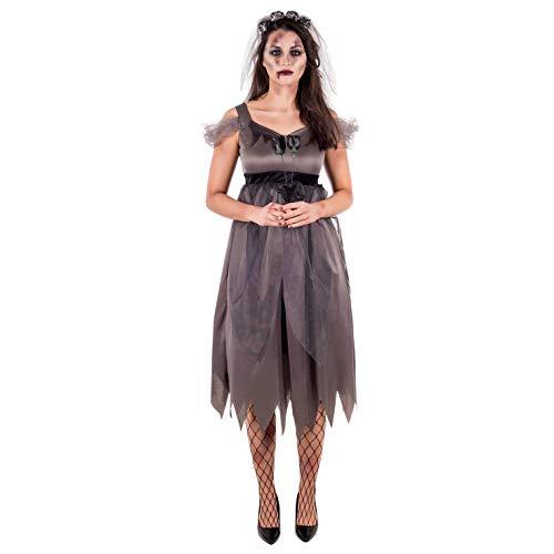 Skelett Braut Kostüm Bräutigam Und - Fun Shack Damen Costume Kostüm, Zombie Bride, XXL