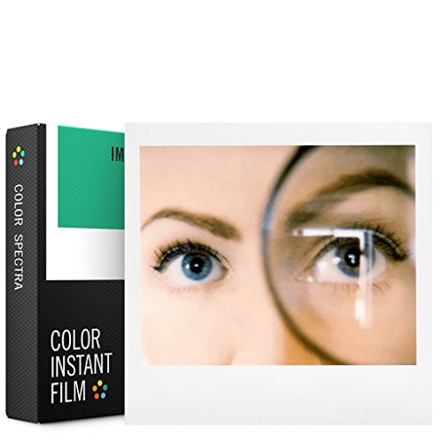 Impossible SPECTRA Farbe Polaroid Film, weiß (4518) Polaroid Kamera Film Wide