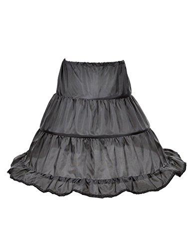 Remedios 3Cerchio ragazza bambini Petticoat Crinolina Half