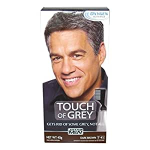 Touch Of Grey T45 Hair Color Dark Brown 40g