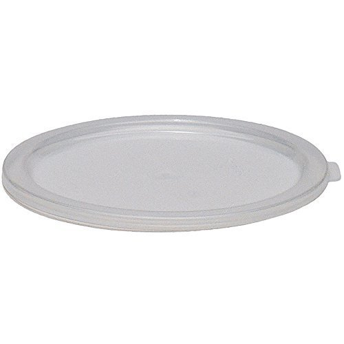 Cambro Translucent Lids for 6 and 8 qt. Round Containers, Pack of 12 RFSC6PP-190 by Cambro