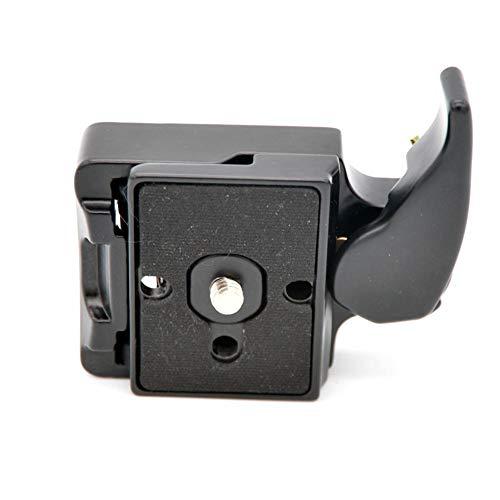 HEIRAO Kamera-Schnellwechseladapter - 323 RC2 Rapid Connect-Adapter mit 200PL-14 - Schnellwechselplatte für Manfrotto 14 Rapid-adapter