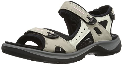 Ecco ECCO OFFROAD, Damen Sport- & Outdoor Sandalen, Beige (ATMOSPHERE/ICE W./BLACK54695), 37 EU (9 Damen UK)