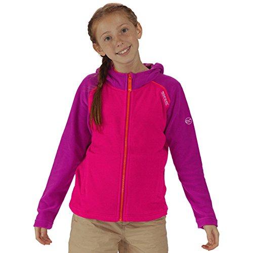 Regatta Boys & Girls Upflow Warm Lightweight Full Zip Fleece Jacket (Kinder Full Zip Fleece)