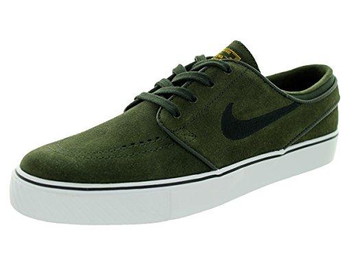 Nike  333824 026, Sneakers homme Vert / noir / doré / blanc (séquoia / noir - doré université - blanc)