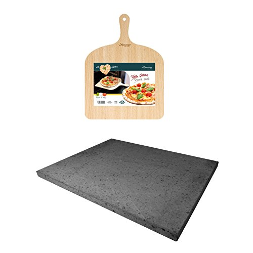 Eppicotispai Pizza Set with Cooking Stone and Pizza