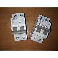 Interruptor Magnetotérmico 1P+N 2A 6kA