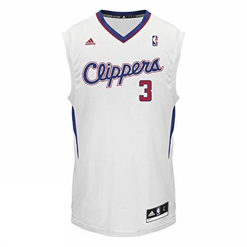 Adidas Basketball Leisure Int Fanshop Trikot 3 Clippers Nba Los Angeles Clipp, Größe Adidas:XXS (Basketball-trikots Air)