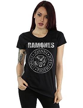 Ramones mujer Distressed Seal Camiseta